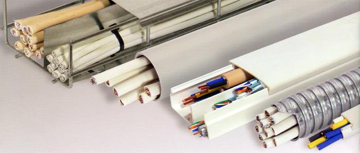 Кабель каналы для проводов