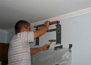 Установка внутреннего блока кондиционера расстояние до потолка схема установки кондиционера на дэу нексия