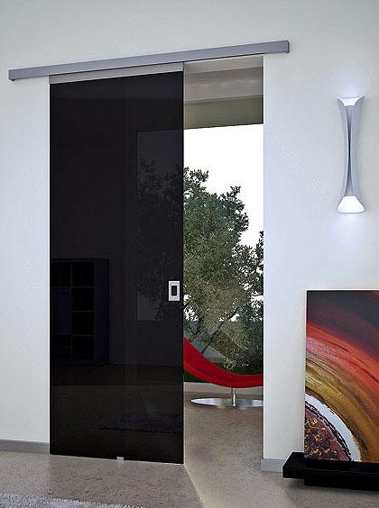 Дверь с раздвижной роликовой системой