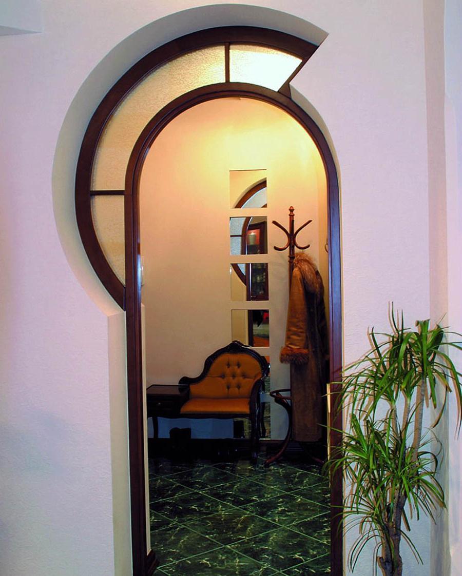 Оформление межкомнатных проемов без дверей фото