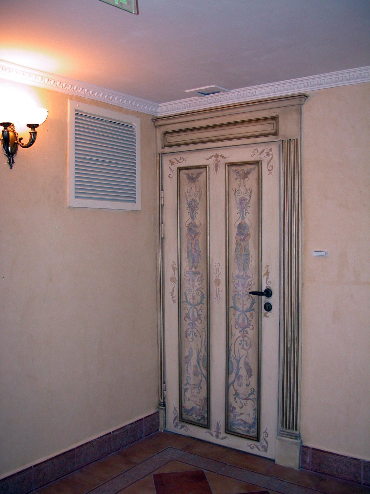 Декупаж и декор дверей своими руками (фото) 15