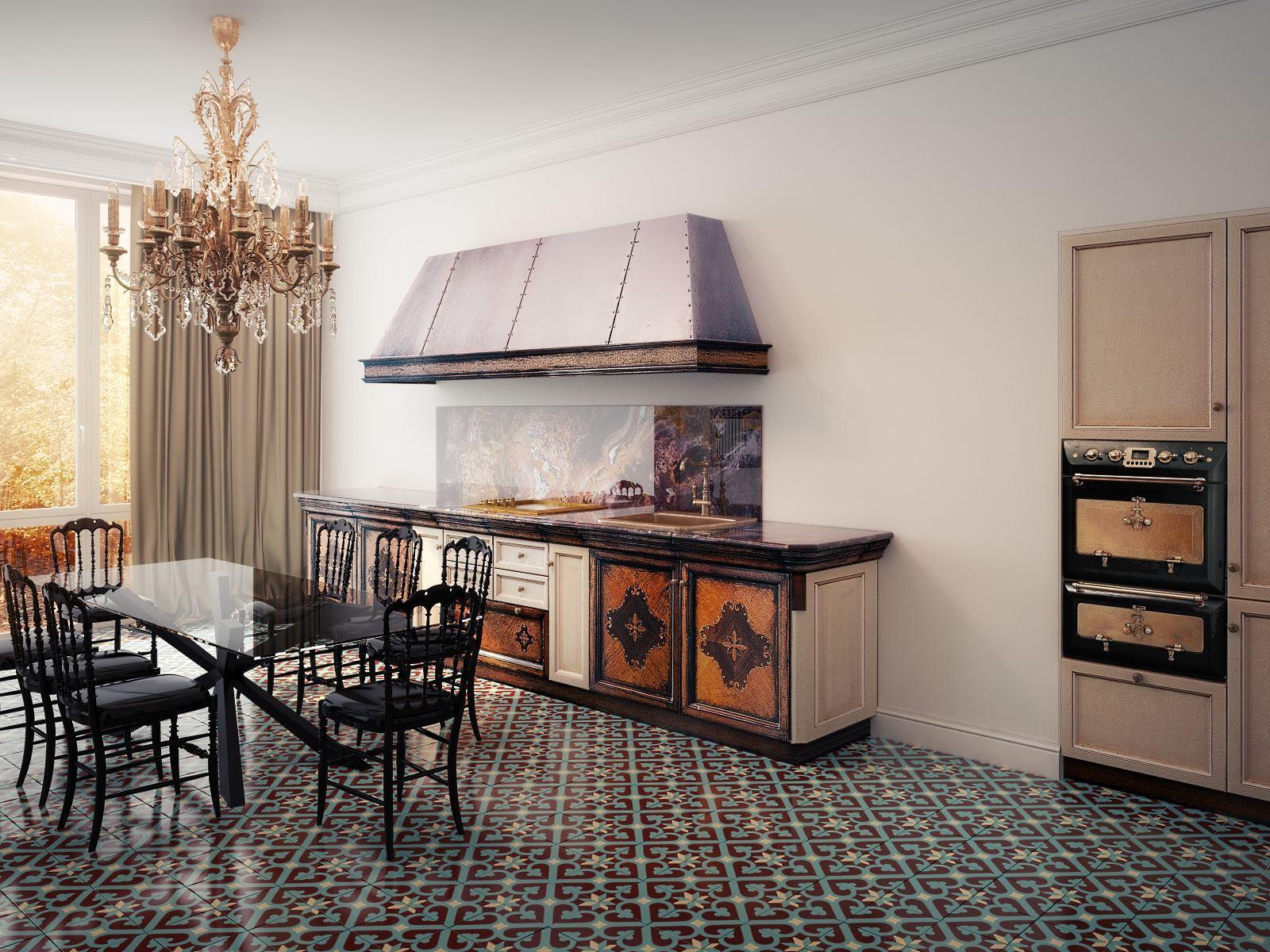 кухни в стиле эклектика фото ним нередко провоцировали