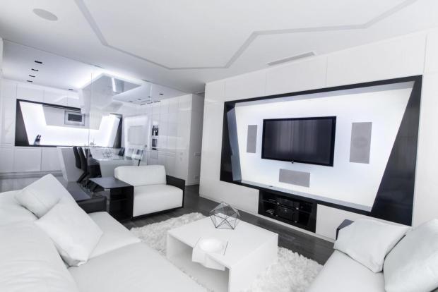 Хай-тек мебель и декор