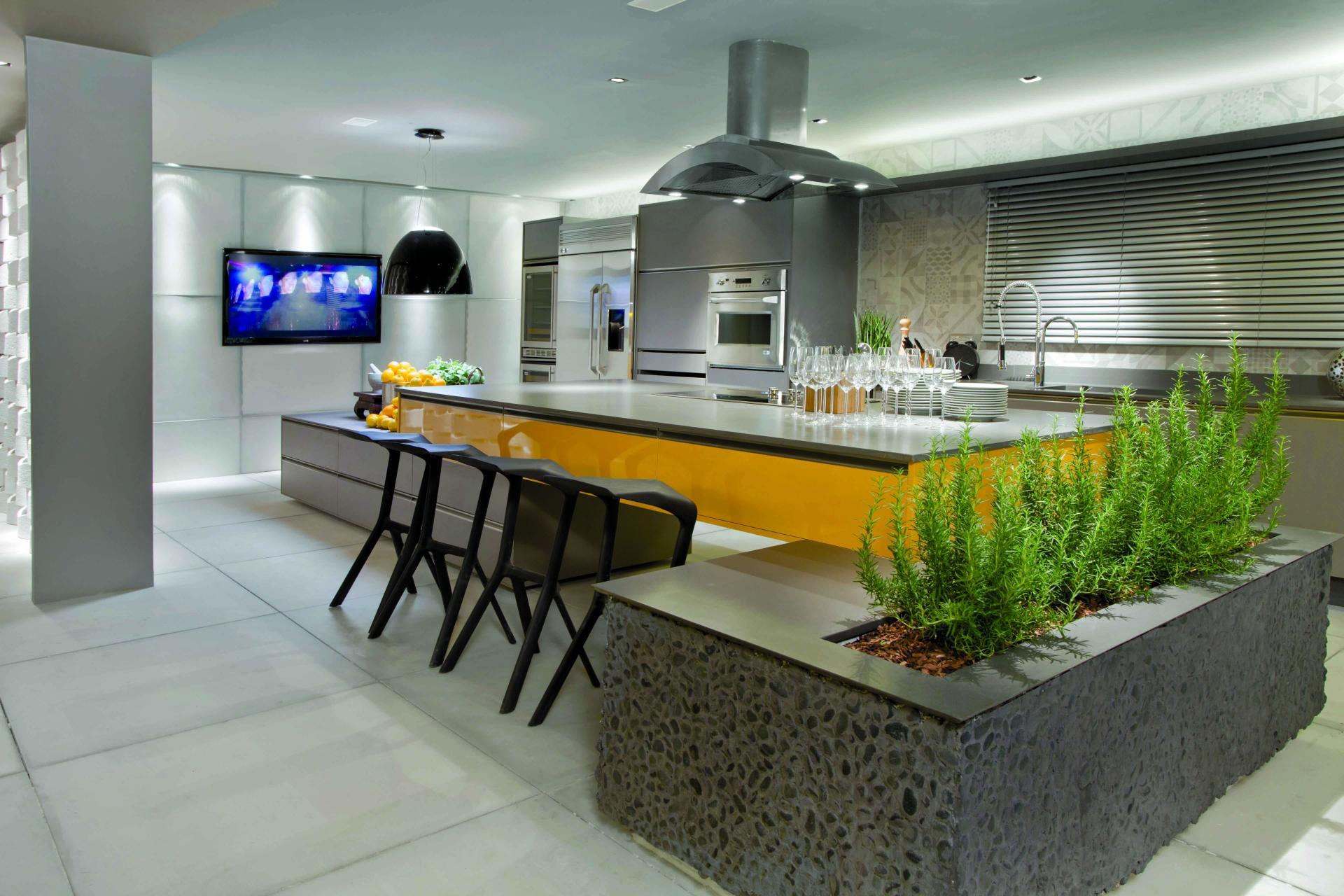 Модные кухни: дизайн, интерьер, тенденции, фото