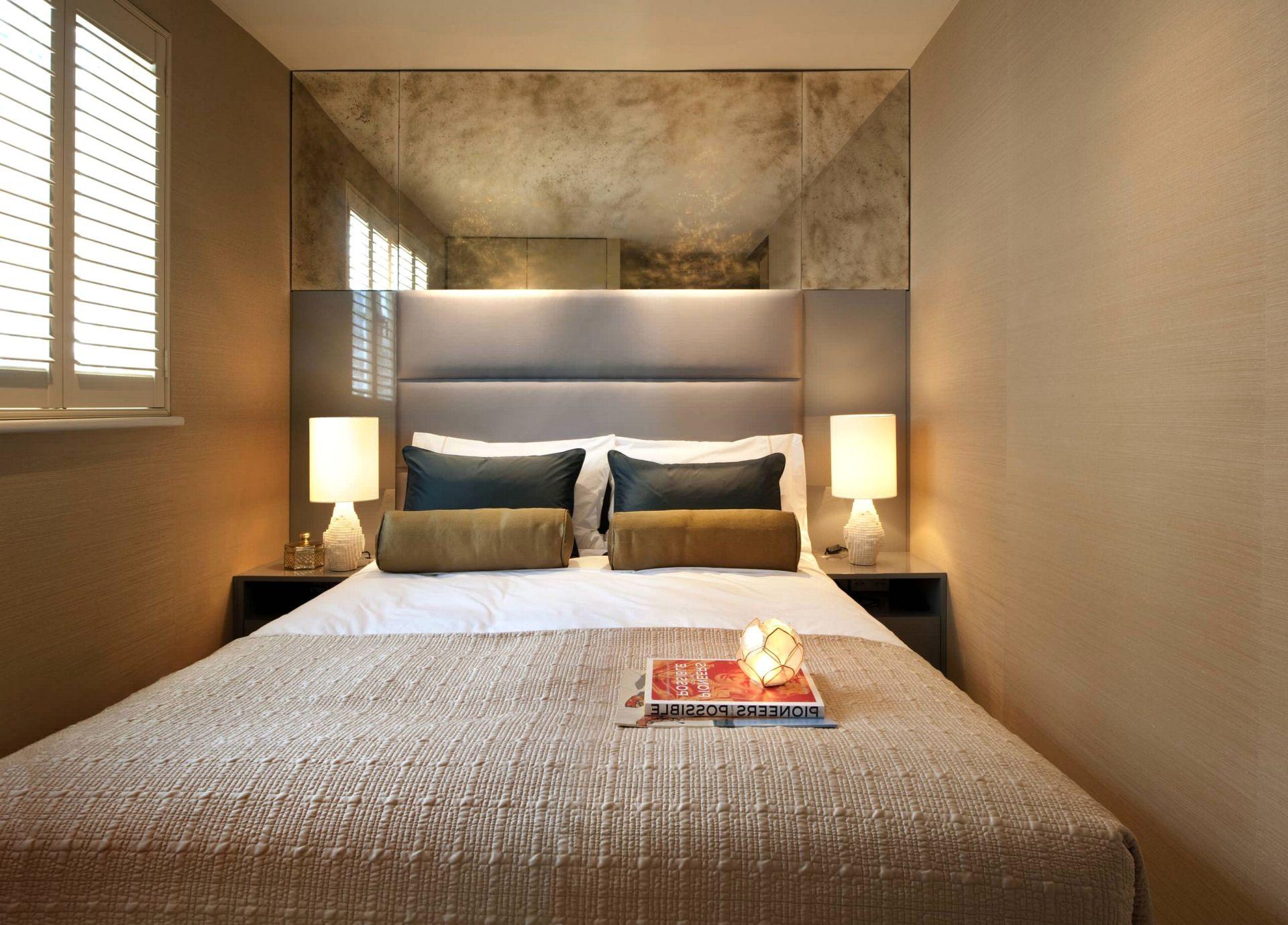 Идеи для маленькой спальни без окон