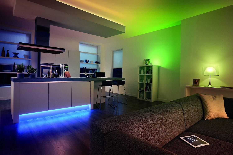 Неоновая подсветка в квартирах и домах Gt 50 фото идей