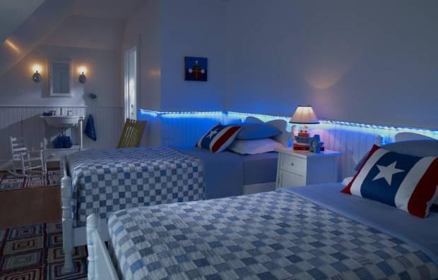 35 b Использование неоновой подсветки для дома Фото