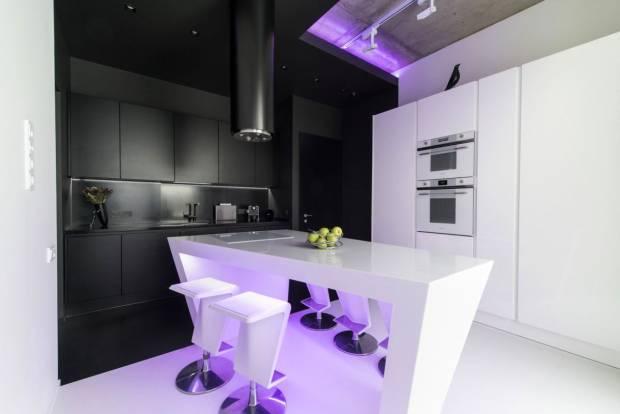 42 b Использование неоновой подсветки для дома Фото