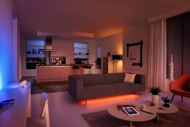 47 b Использование неоновой подсветки для дома Фото