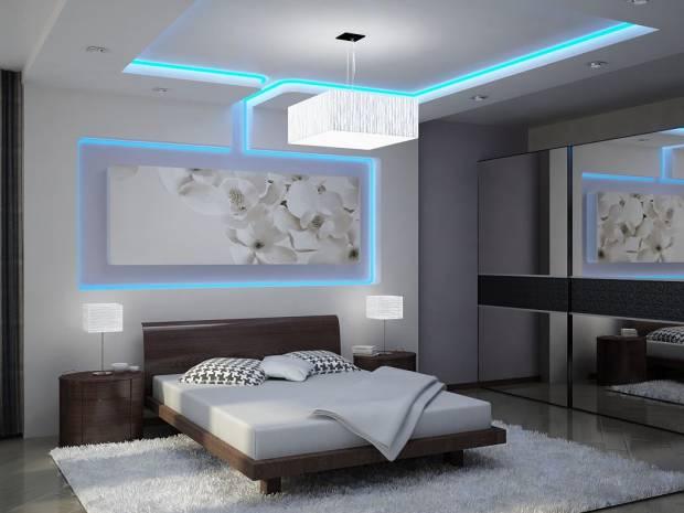 48 b Использование неоновой подсветки для дома Фото