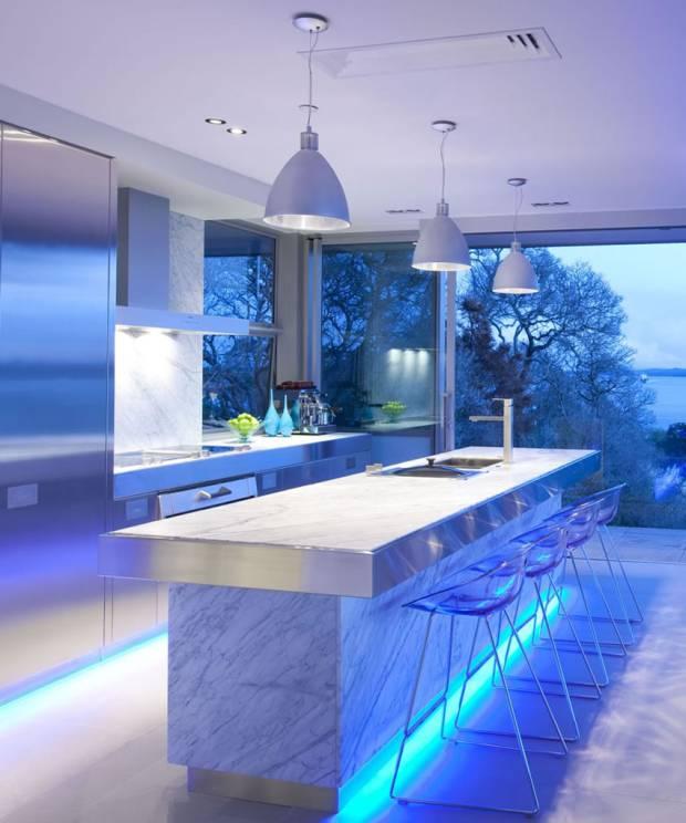 60 b Использование неоновой подсветки для дома Фото