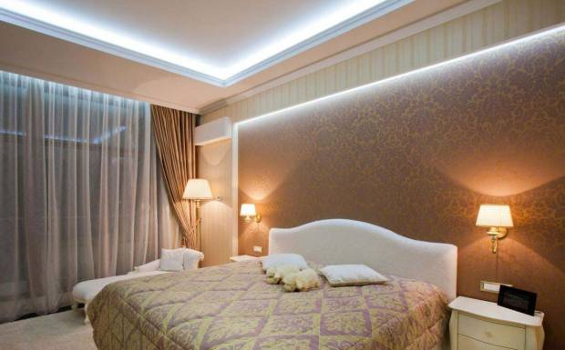78 b Использование неоновой подсветки для дома Фото