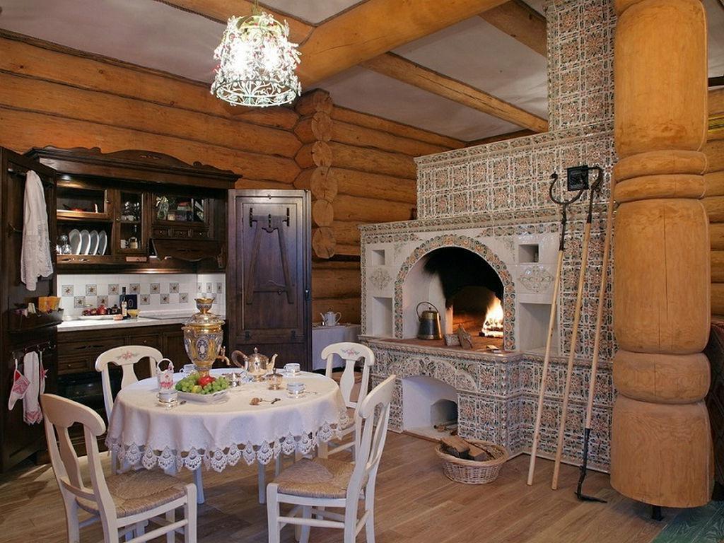 дизайн деревенского дома внутри своими руками фото при использовании
