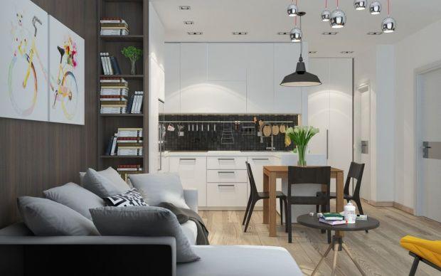 Квартира-студия с нейтарльными оттенками