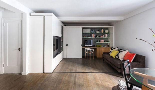Продуманный интерьер квартиры-студии