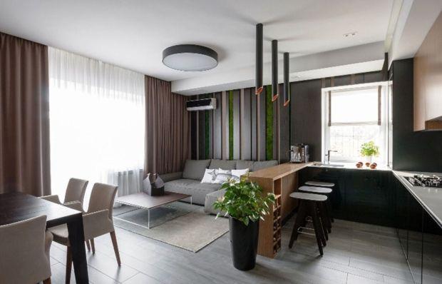 Цвета интерьера в квартире-студии