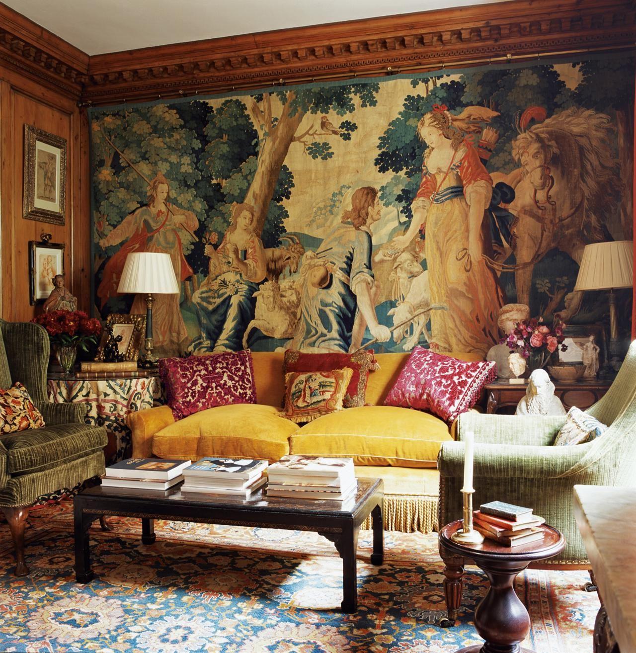 Настенные ковры в современном интерьере 50 фото-идей с коврами на стенах в различных дизайнах