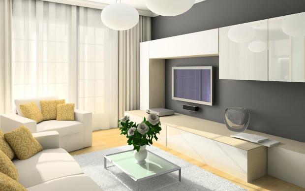 Идеи для гостиной 17 метров