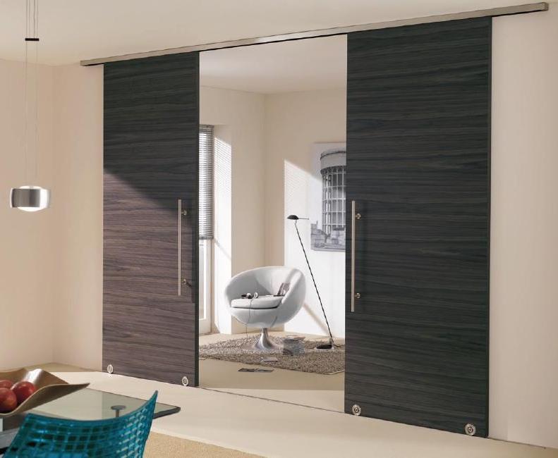 широкие межкомнатные двери виды материалы отделка дверей для