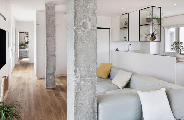 Колонны в интерьере квартиры и дома: 100 лучших фото идей
